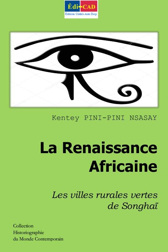 La Renaissance Africaine. Les villes rurales vertes de Songhaï. 1ère couverture