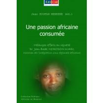 Une passion africaine consumée 1ere couv