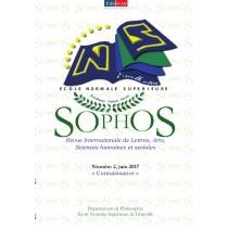 SOPHOS,Revue Internationale de Lettres, Arts, Sciences Humaines et Sociales. Numéro 2, « La Connaissance », juin 2017